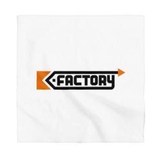 K-FACTORY ロゴ Bandana