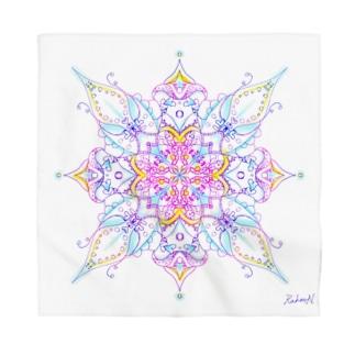 A Cross Flower of Love Bandana