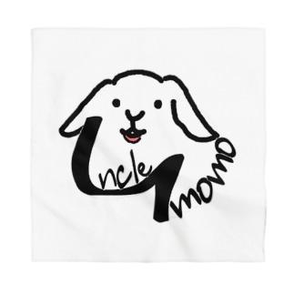 【uncle momo】ロゴ Bandana