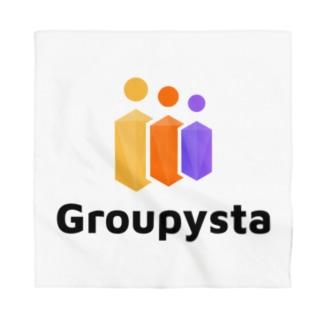 Groupysta公式グッズ Bandana