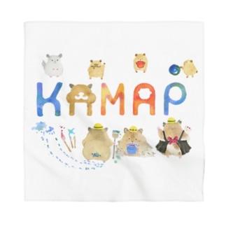 【KAMAP】カラフルKAMAP Bandana
