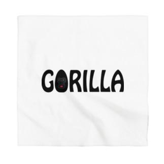 GORILLA(英字+1シリーズ) Bandana