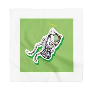 カエルの郵便屋さん Bandana