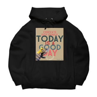 Today is a good day カカオ&シトラス Big Hoodies