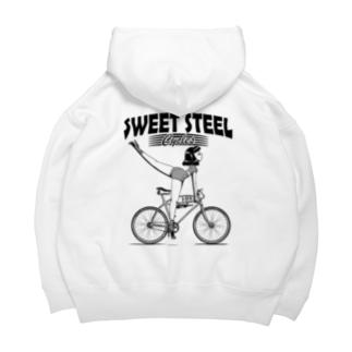 """""""SWEET STEEL Cycles"""" #2 Big Hoodie"""