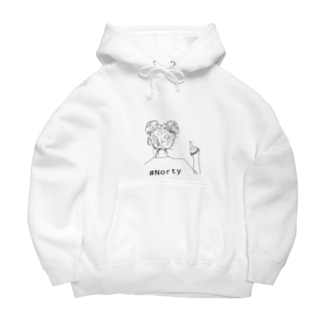ノーティ Big Hoodies