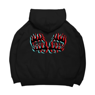 ChRiSUMA FIRE FISTS  Big Hoodies