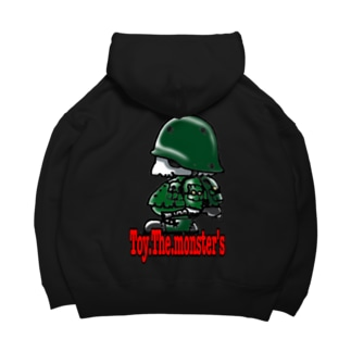 Toy.The.monster's AK side Big Hoodies