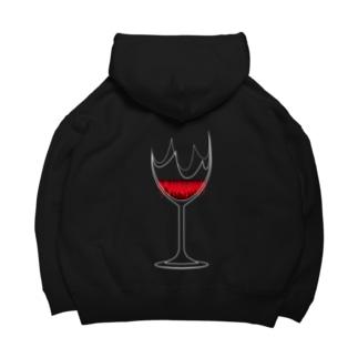 Wine Big Hoodies