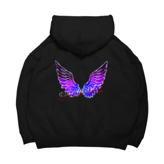 TaigaのSaNDpiT FLy Big Hoodies