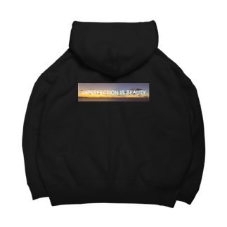 KRSのimperfection is beauty Big Hoodies