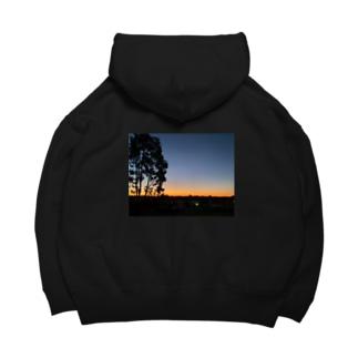 Sunset Big Hoodies
