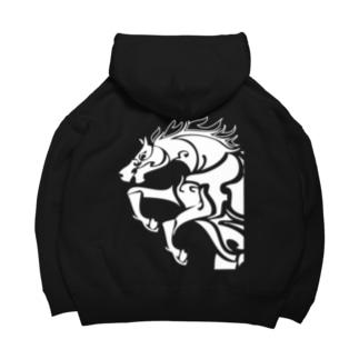 THE-HORSE-翔馬 Big Hoodies