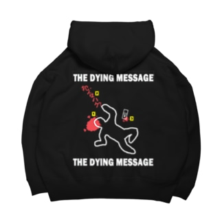 THE DYING MESSAGE Big Hoodies