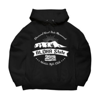 HONOLULU VOLCANO Big Hoodies