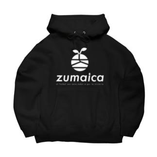 zumaica  white Big Hoodies