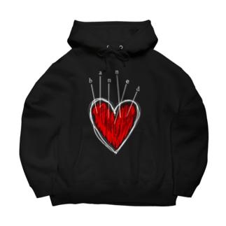 banned heart Big Hoodies