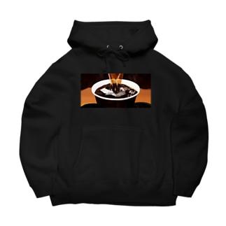 100円コーヒー Big Hoodies