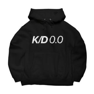 K/D0.0 [文字色白] Big Hoodies