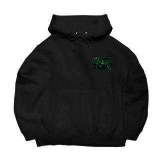 緑 Big Hoodies