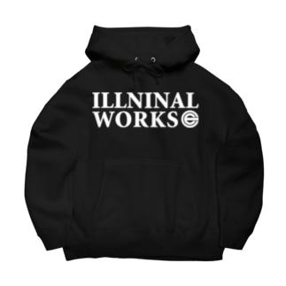 ILLNINAL WORKS Big Hoodies