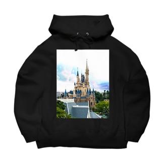 Disney castle Big Hoodies
