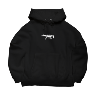 40's talonのmp5 黒 Big Hoodies