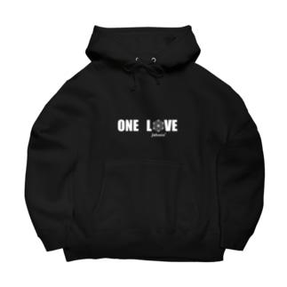 ONE LOVE logo Big Hoodies