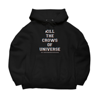 shoppのKILL the CROWS of UNIVERSE Big Hoodies