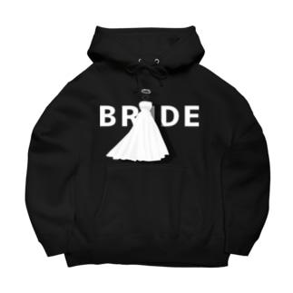 ペア(BRIDE)ドレス_白_FW Big Hoodies