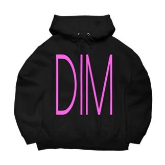 DIM_A_DARA PINK/DB_29 Big Hoodies