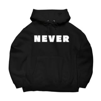 NEVER Big Hoodies