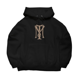 TM_マーク Big Hoodies