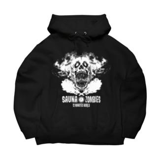 SAUNAZOMBIES -SATORI DOKURO HOODIE - Big Hoodies