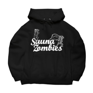 SAUNAZOMBIES - アウフギーガ HOODIE DARK- Big Hoodies