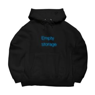 Empty storage 〜空置き場〜 Big Hoodies