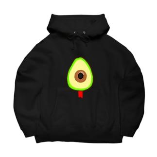 killed fruits~avocado〜死因:銃殺 Big Hoodies