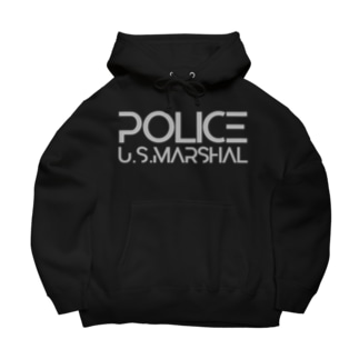 AIRSOFTER 【cyber Marshal】 Big Hoodies