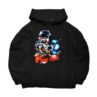 思想 Big Hoodies