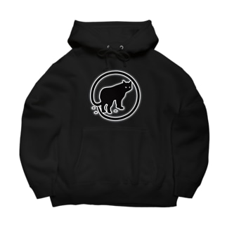 Cat_Logo Big Hoodies