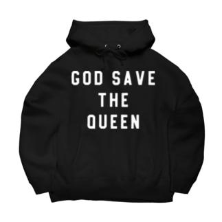 GOD SAVE THE QUEEN Big Hoodies