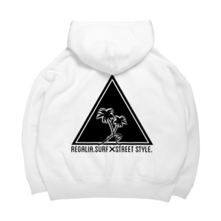 REGALIA triangle LOGO Big Hoodies