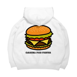 ChRiSUMA FOOD FIGHTER Big Hoodies