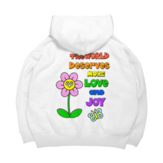 Love & Joy for you! 2 Big Hoodies