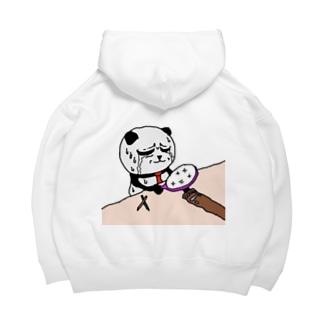 パンダくんTシャツ Big Hoodies