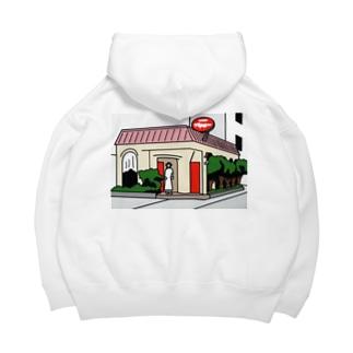 近所のサ店 Big Hoodies