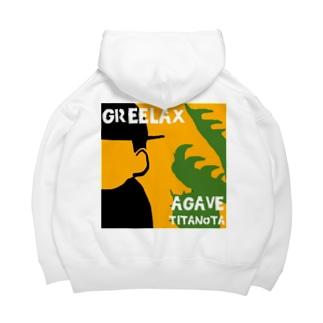 GREELAX コラボ パキポキ Big Hoodies
