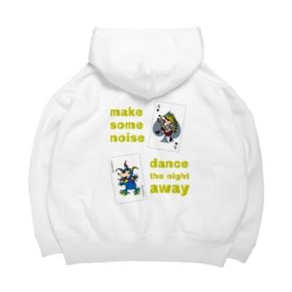 Make some noise♪♪♪ Big Hoodies