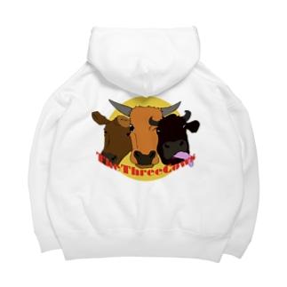 The Three Cows  Big Hoodies