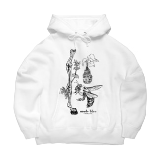 Kumanbachi , Bone of house & Spring plants Big Hoodies